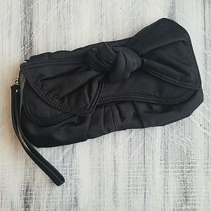 Black Bow Clutch